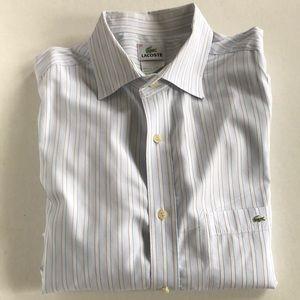 Lacoste | Striped Spread collar Shirt